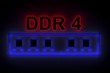 DDR4 is presented in the form of neon
