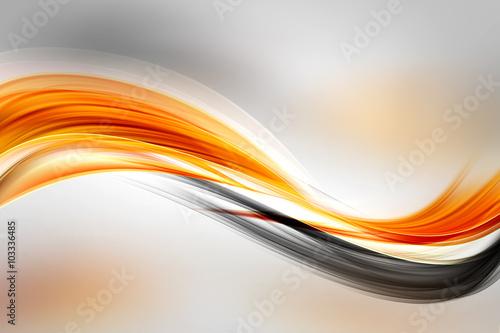 Fototapeta na wymiar Abstract Sun Gold Wave Design Background