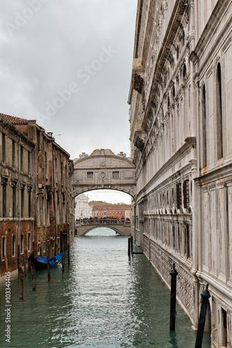 Fototapety, obrazy: Bridge of Sighs Venice, Italy
