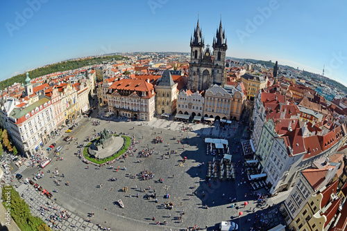 Fototapeta Praga rynek-w-pradze