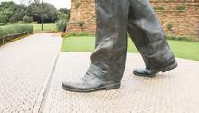 Nelson Mandela Feet