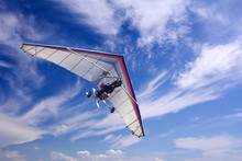 Motorizedr Paraglider Flying I...