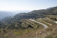 Serpentinväg I Castellón