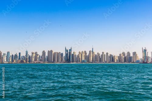 Fotografie, Obraz  Dubai marina skyline