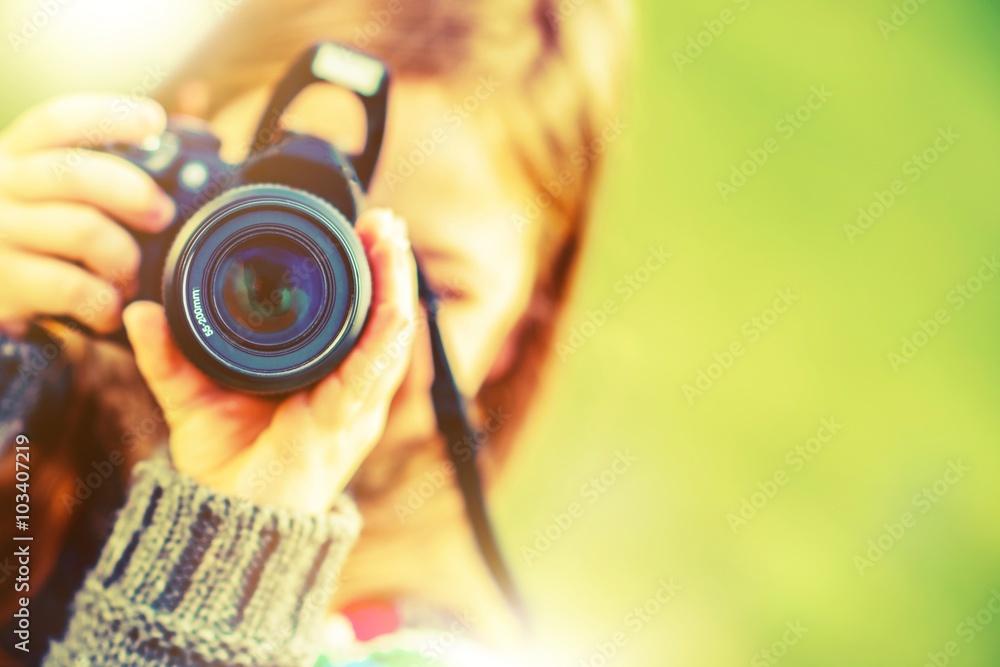 Fototapety, obrazy: Photography Hobby