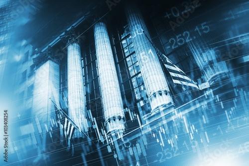 Zdjęcie XXL Koncepcja rynku akcji
