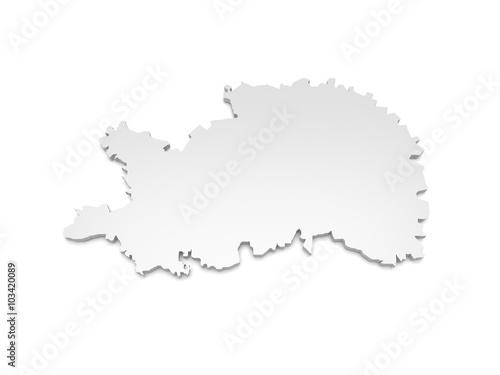 Ostalbkreis Karte.3d Karte Baden Württemberg Ostalbkreis Kaufen Sie Diese