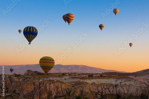 Fototapety, obrazy: Cappadocia balloons