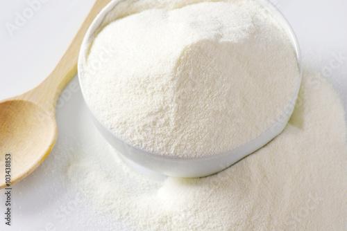 Fotobehang Zuivelproducten Whole milk powder
