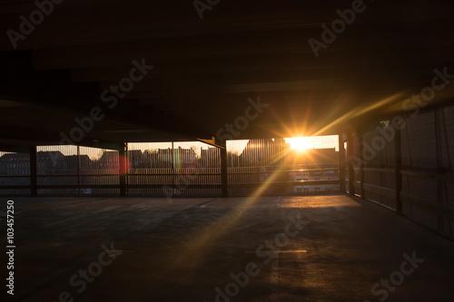Fotografie, Tablou  Stralsund Parking Block
