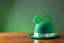 Lucky Green Hat For St. Patricks Day