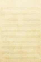 Old Music Sheet Background And Texture