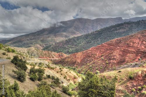 Foto op Plexiglas China Moroccan landscape - High Atlas