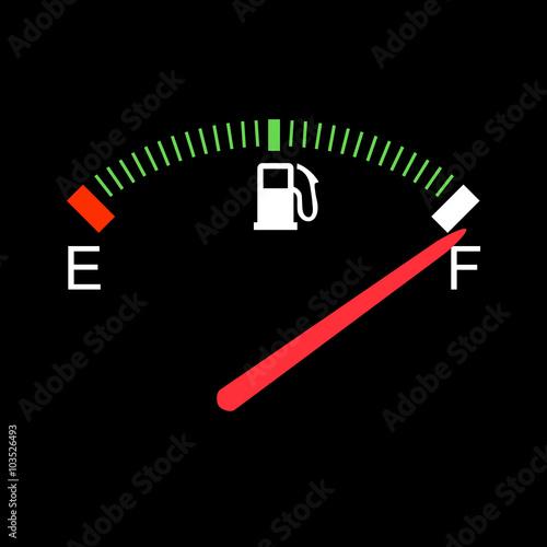 Fotografía  Fuel gauge