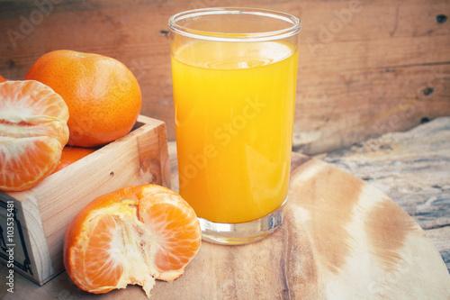 Poster Sap Orange juice