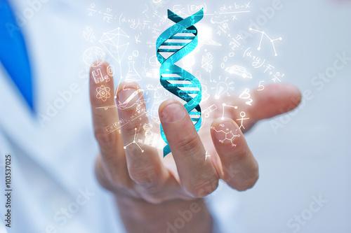Obraz mano, braccio, dna, scienza, biologia - fototapety do salonu