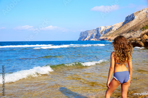 Photo  Las Rotas beach in Denia Alicante