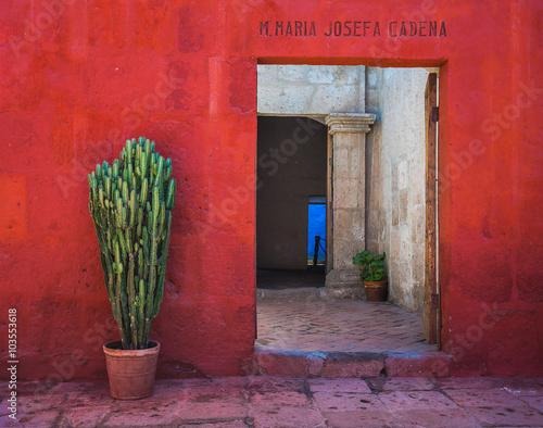Santa Catalina Monastery, Arequipa, Peru Fototapet
