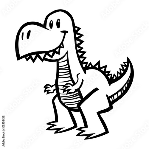 Photo  Dinosaur T-Rex vector