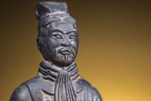 Close-up Of Terracotta Figurin...