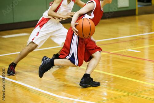 バスケットボール Canvas Print