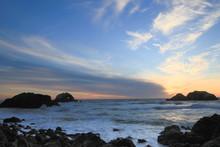 Pacific Ocean Sunset, Sutro Ba...