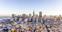 Cityscape Of San Francisco And...
