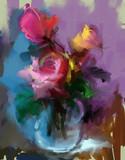 Róże Martwa natura - 103589031