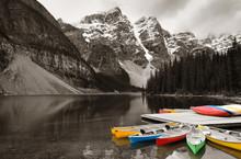 Moraine Lake Boat
