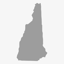 Map Of New Hampshire State In ...
