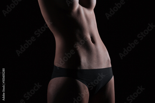 фотография  Closeup portrait of a sexy female body
