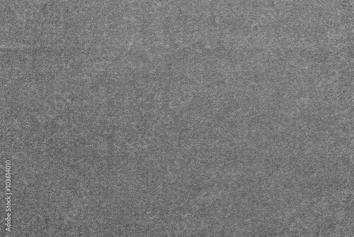 Monochrome Speckled Textured Background From Fabric Of Dark Gray Color