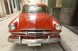 Old american car on beautiful street of Havana, Cuba