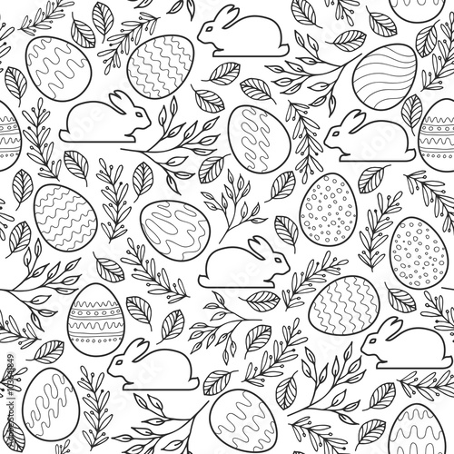 seamless-vector-pattern-with-easter-eggs-bunnies