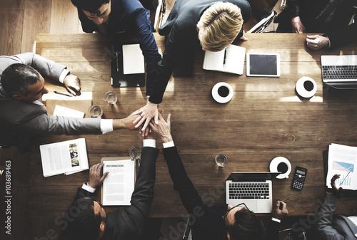 Carta da parati  Business People Teamwork Collaboration Relation Concept