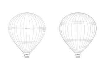 イラスト素材「気球」