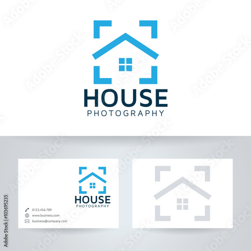 House photography vector logo with business card template buy this house photography vector logo with business card template reheart Image collections