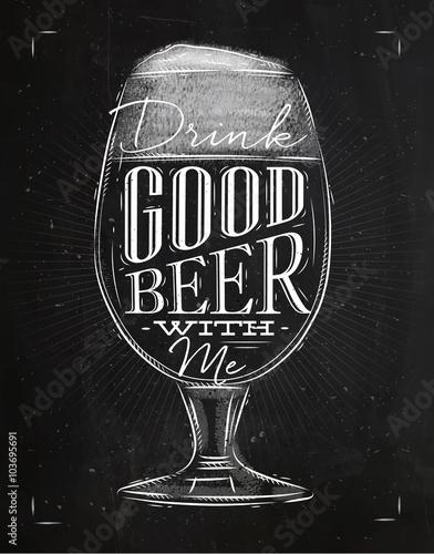 czarno-biala-ilustracja-z-szklanka-piwa-i-napisem