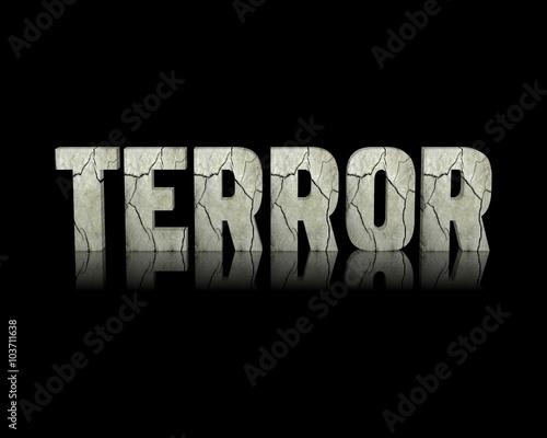 Fotografía  Terror 3d wort