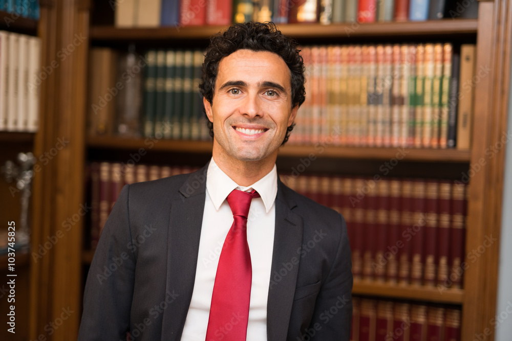 Fototapeta Lawyer portrait