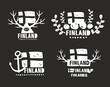 Creative labels of Finland.