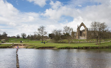Bolton Priory And Stepping Sto...