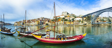 Panorama Of Beautiful Porto Wi...