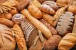 Fresh fragrant bread on the table