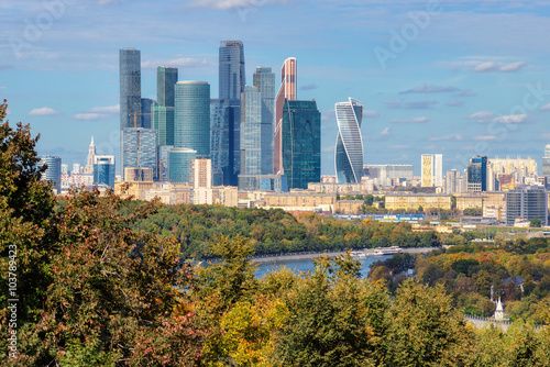 Moscow city (Moscow International Business Center) Russia - 103789423