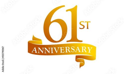 Fotografia  61 Ribbon Anniversary