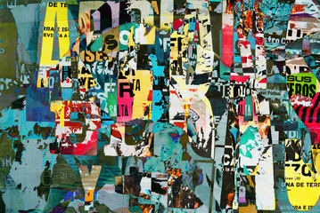 FototapetaBackground digital collage or typography design wallpaper textur