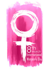 Happy Women Day greetings background