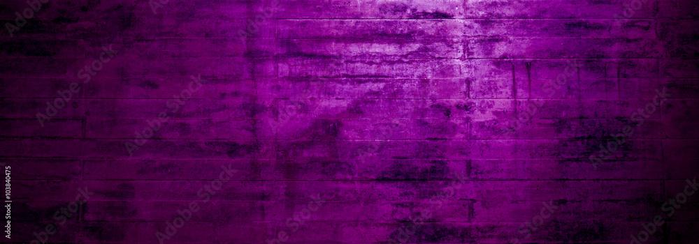Fototapety, obrazy: Verwitterte alte violette Oberfläche als breiter Hintergrund