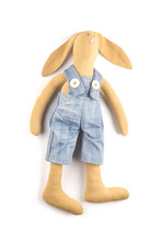 Soft Toy Rabbit With His Own H...